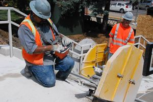 Electric Concrete Sawing
