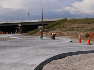Highway sealing and bump grinding