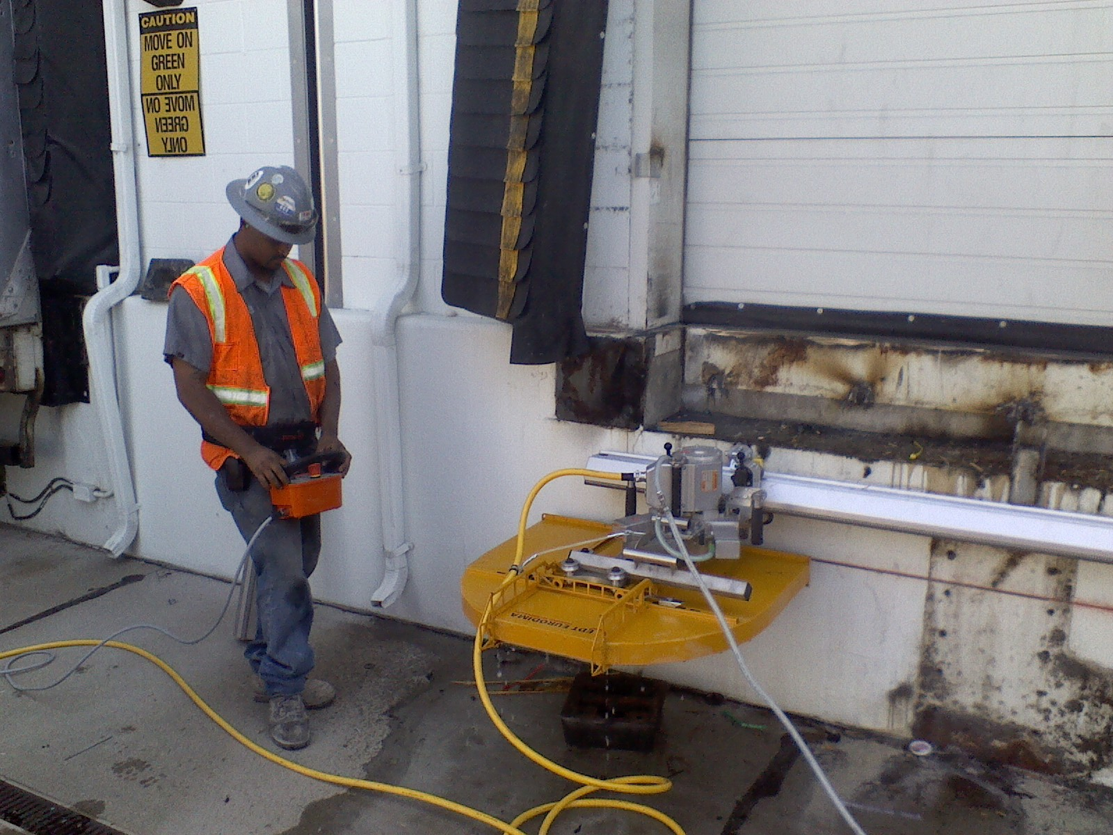 Dock Levelers Deandrea Coring And Sawing