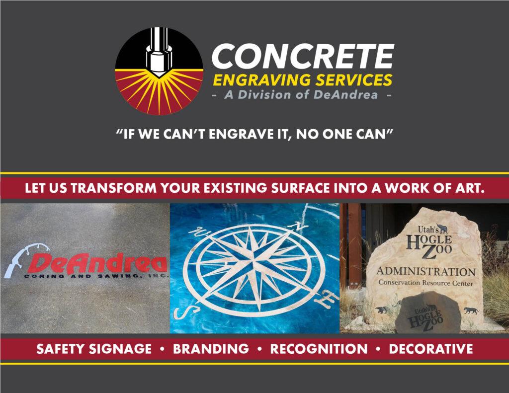 Concrete Engraving Example